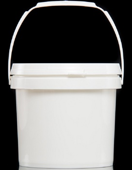 3L One-Piece Injection Molding Leak Free Plastic Bucket Pail