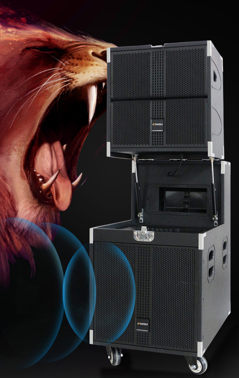 SANSUI SG9-10 큰 스피커! 10 inch professional active stage 스피커, Blue tooth 스피커 상자 휴대용 선 Array System