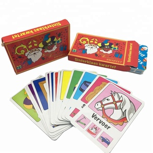 Customized Paper Flash Card Printing Educational Memory Card Services