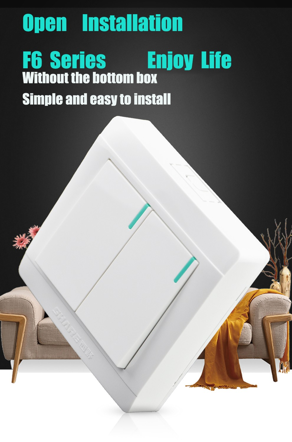 High Quality New Design Share Open Installation Wall
