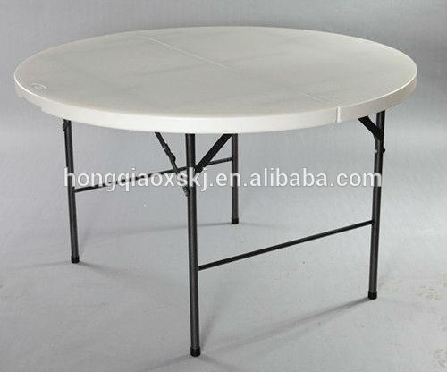 60 Inch Round Folding Table For Banquet And Wedding, Used Round Banquet  Tables For Sale