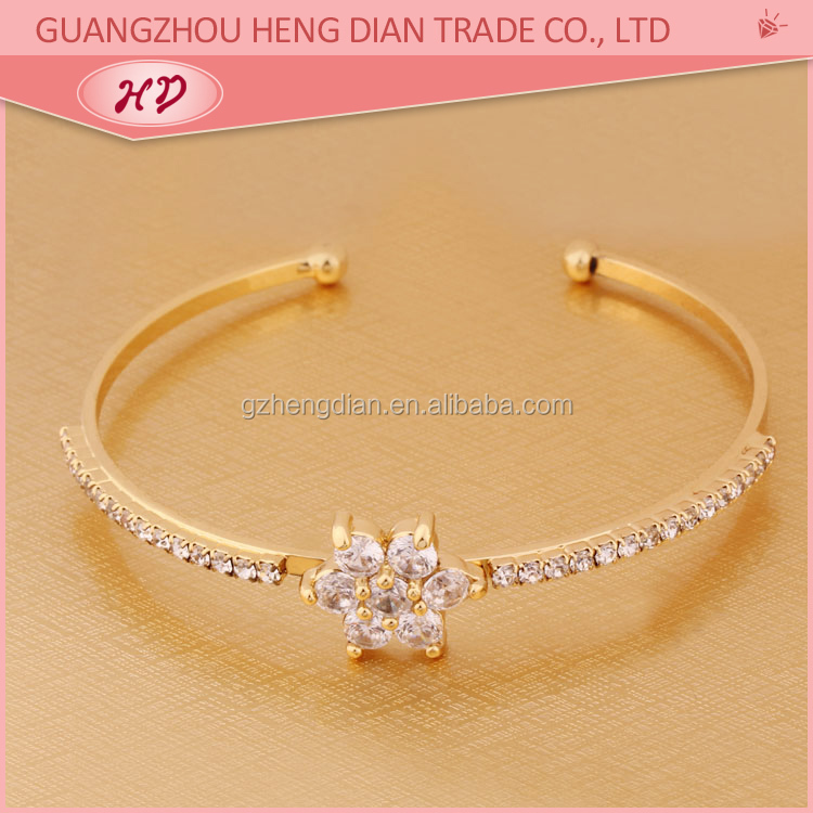 c8e2215973e18 Hot new products for 2018 Gold Plated indian 1 gram gold bangles latest  designs, View gold bangles, Hengdian Product Details from Guangzhou Heng  Dian ...