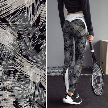 Wholesale Printing Leggings sexy Women High Waist Tight Pants Custom Yoga Pants