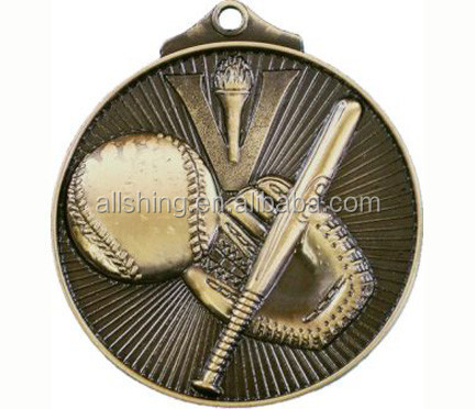Promotional Victory Baseball medals / custom wanted factory price baseball medals wholesale in 2015