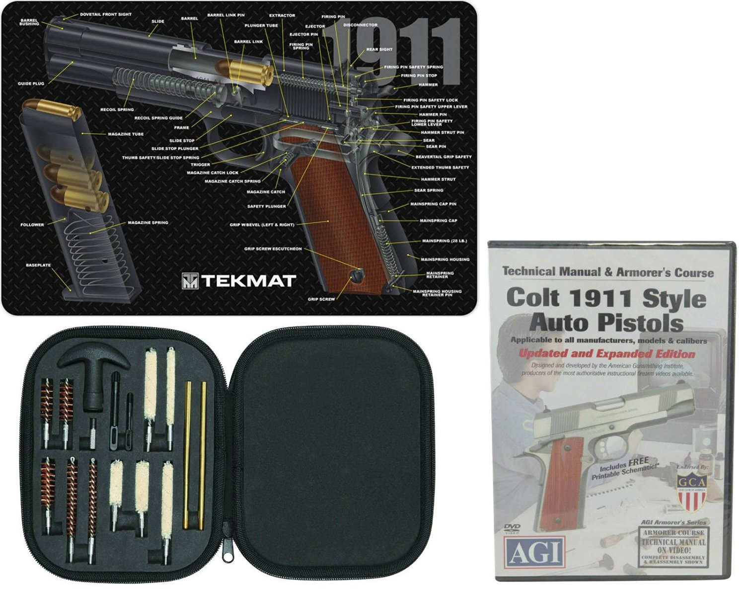 Buy AGI DVD COLT 1911  45 AUTO Pistol Disassembly