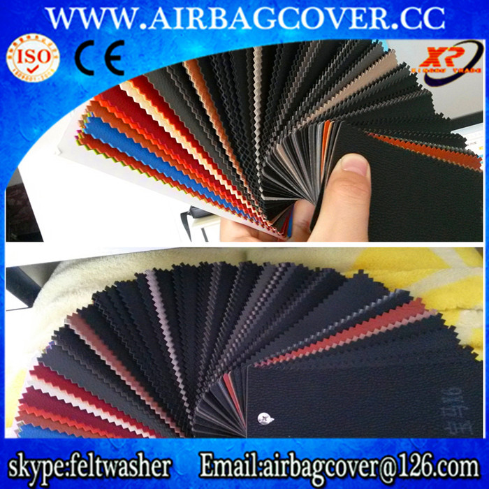 Airbag Leather ,dashboard leathers,PVC film for dashboard