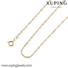 43264 -Xuping Fine long chain jewellery necklace women