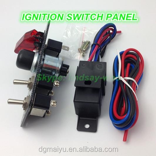 12v Ignition Switch Panel For Car Boat Marine