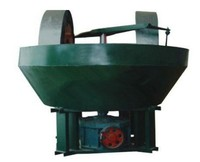 china small double wheel wet pan mill for rock gold /Edge runner wet mill