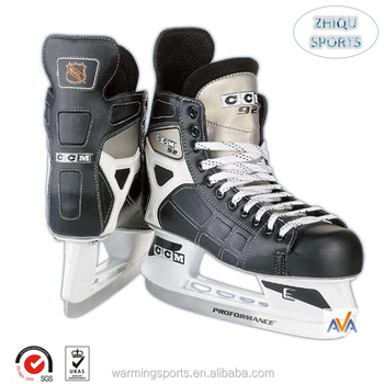 Used Hockey Skates >> Hot Sale Canada Style Professional Manufacture Grey Color Ice Hockey Skates Used In Hockey Team View Canada Type Ice Skating Shoes Zhiqu Product