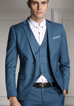 Newest Design High Quality Best Price Blue Colour Men Suits ...