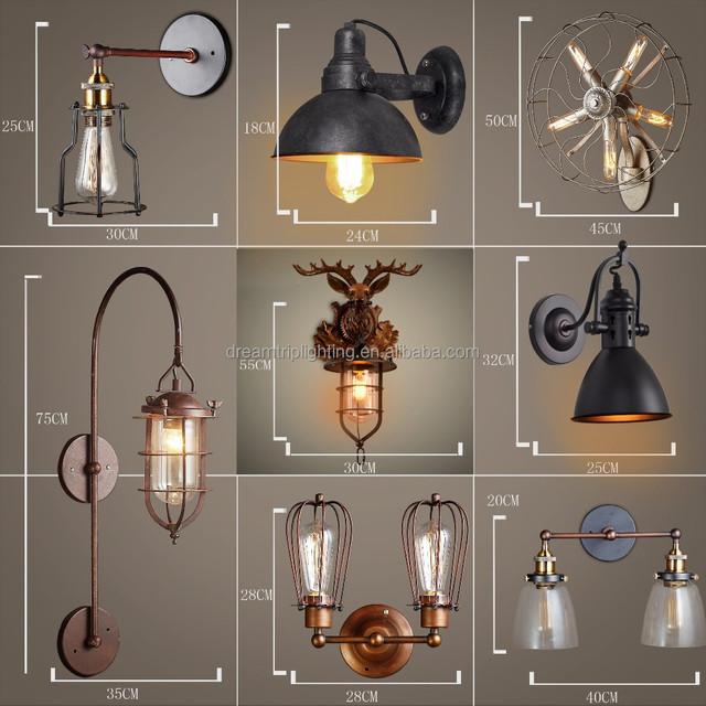 Turkish Mosaic Glass Lamp,vintage Loft Lighting,rustic Wall Lamps