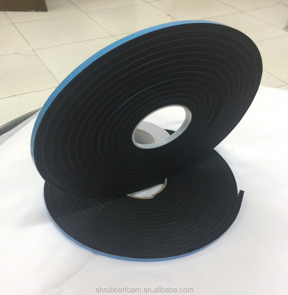 8mm pvc foam tape high density/v2200 /v2100 tape/ glass curtain adhesive tape