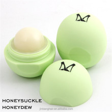 Wholesale Multi-colored Natural Ingredients Candy 6 Colors Ball Shape Moisturizing Lip Balm