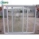 UPVC single panel frosted half bathroom glass door