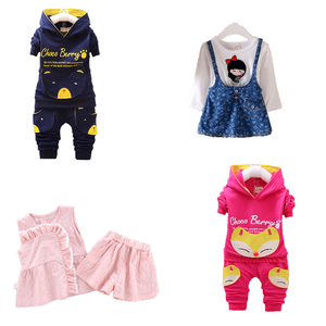 girls clothing sets kids clothes little toddler baby dress child autumn boutique 2019 quality babies