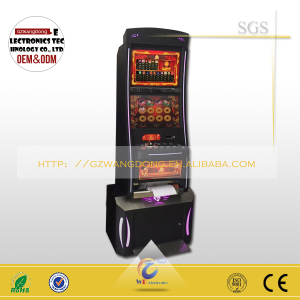Wangdong Baccarate Slot Game Machine /bingo Metal Cabinet Factory ...