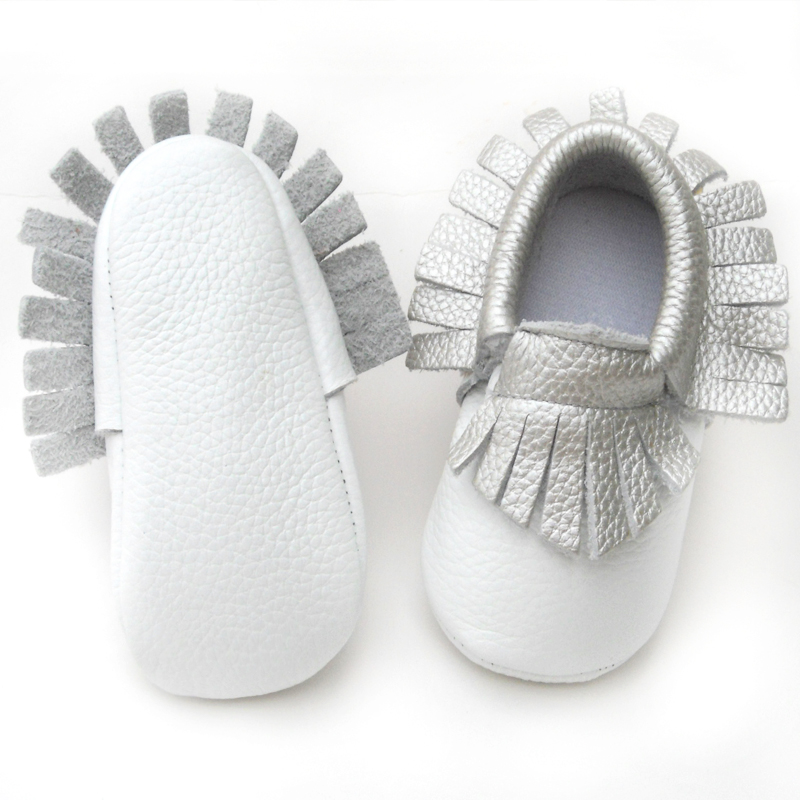 baby shoes cow leather baby moccasins shoes kid shoes colorful shoes