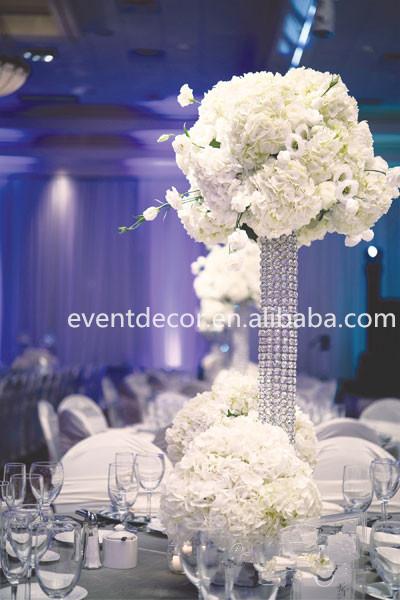 Crystal wedding centerpieces tall crystal pillar stand and flower crystal wedding centerpieces tall crystal pillar stand and flower stand junglespirit Choice Image
