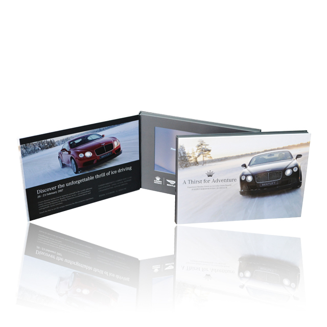 Digital Book/Lcd Booklet/Video Catalog With 7 Inch Screen