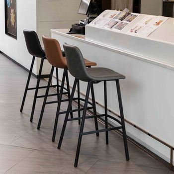 China factory sale commerical bar furniture Cheap modern bar bistro stool chairs Stainless steel high legs bar chair/stool