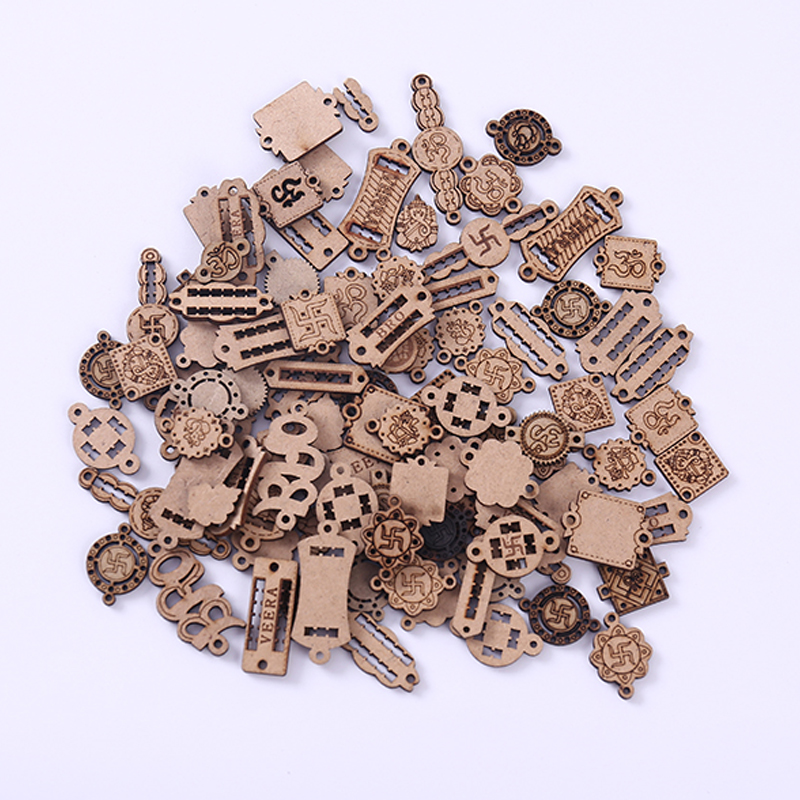 Natural color wooden buttons coil shape garment sewing scrapbooking 24mm