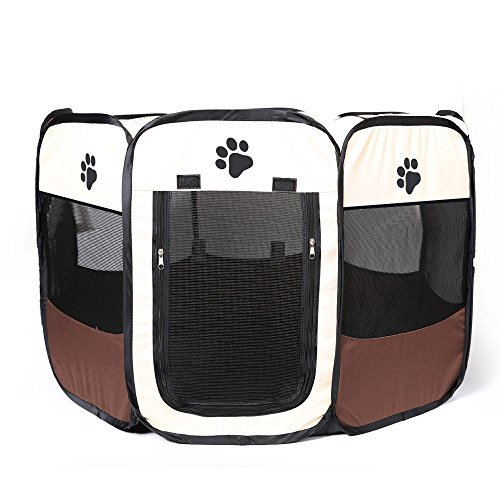 Pop Up Tent Pet Box Carrier Dog Cat Puppies Draagbare opvouwbare duurzame pootkennel