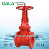 FM UL Approved os& y Type-Flanged Ends Gate Valve