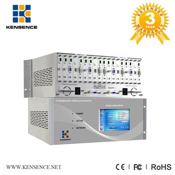 Bi-directional Rs232 Transmission 4k Poc Modular Seamless Switch Matrix  Switch Supports Ip Streaming Extender - Buy Vga Matrix,Modular Matrix,Video