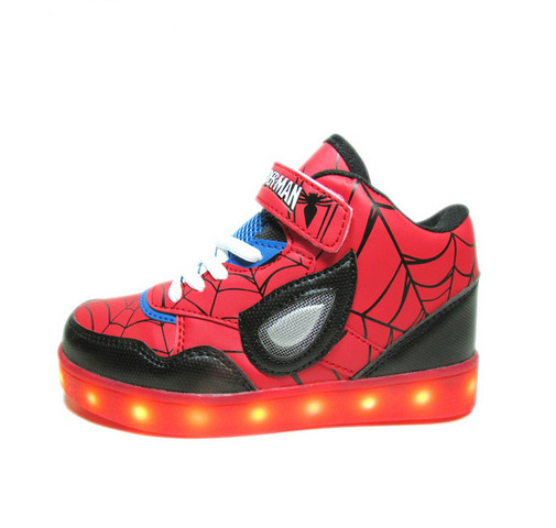 Kids Led Lighting Shoes Boys Sneakers