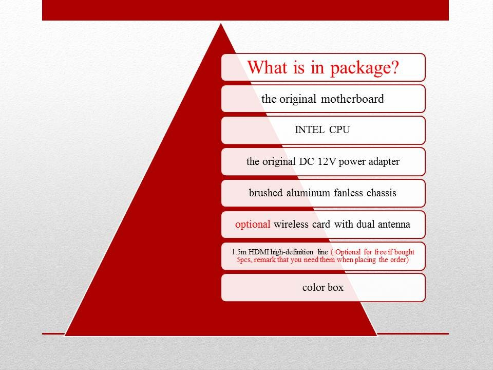 Partaker B5 המשרד לעסקים מחשב Mini with 5th Gen Intel 14nm Quad Core מעבד N3150