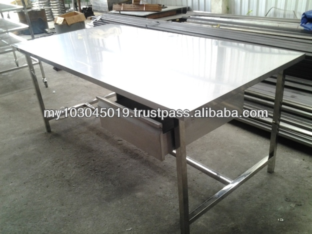 Malaysia Stainless Steel Table Malaysia Stainless Steel Table - 6ft stainless steel table