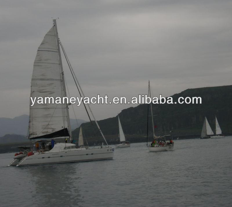 Catamaran Sailboat Lagoon used 470