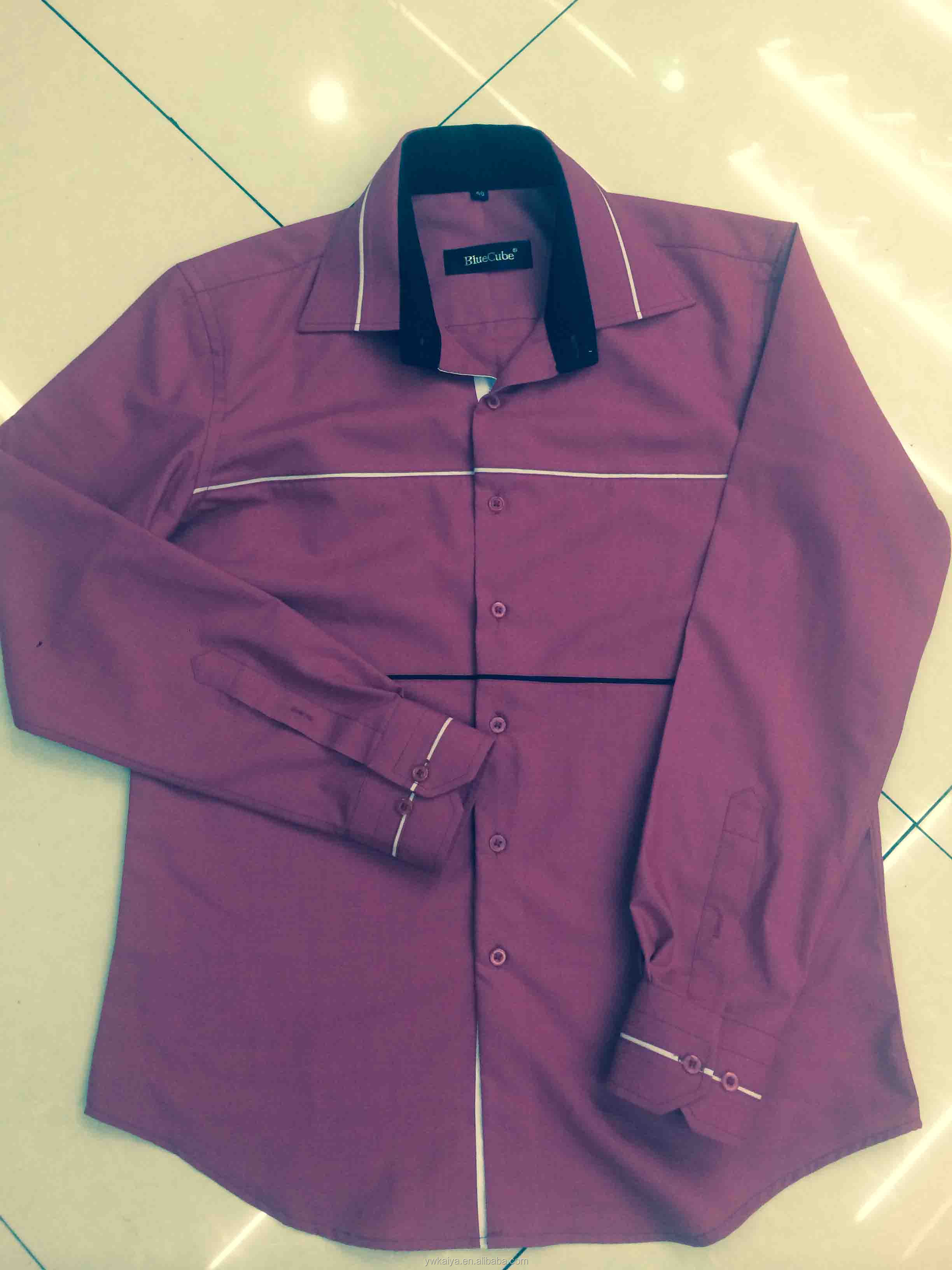 Shirt design of 2014 - 2014 China Suppiler Latest Design India Solid Color Cheap T C Business Casual Man Shirt Buy Business Shirt For Men Indina Business Shirts Fancy Casual