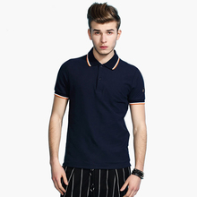 Fashion man's cotton custom printing short sleeve casual polo t shirt wholesale