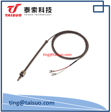 Spring Adjustable Thermocouple Type J temperature sensor