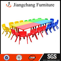 JC-ZYS13 Preschool Children Plastic Table And Chair