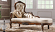 new design baroque wedding chaise lounge