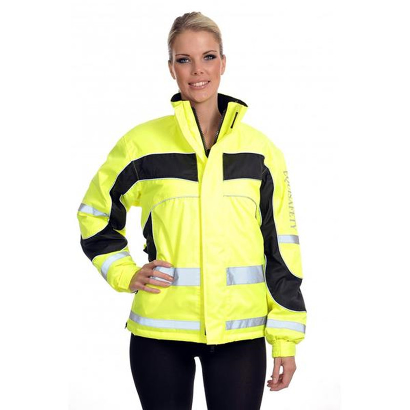 Custom 3m reflective ladies safety jacket