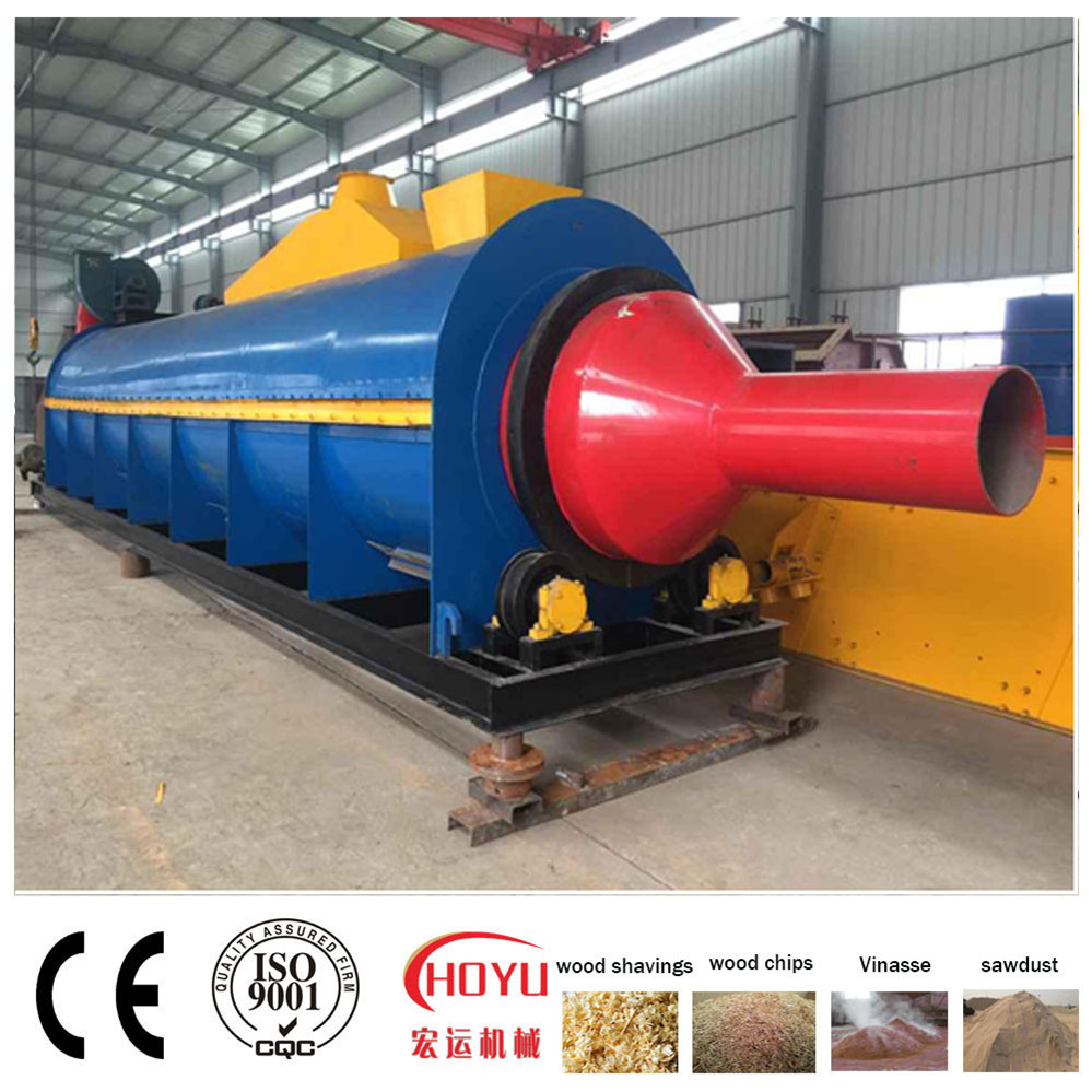 New Heating Technology, Ore Dryer, Wood Sawdust Dryer
