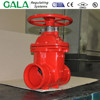 UL/FM listings Fire Protection Gate Valve