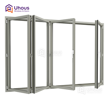 High Quality Double Gl Accordion Windows Cost