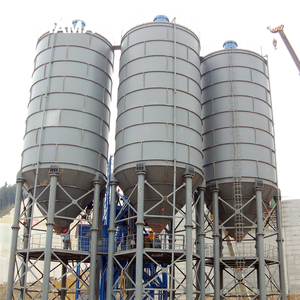 The automatic fly ash storage silo design used for ready mix concrete plants