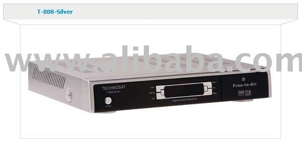 Technosat T-888 SILVER Digital Satellite Receiver