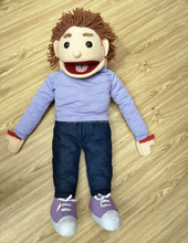 hot sale character plush hand ventriloquist puppets for sale