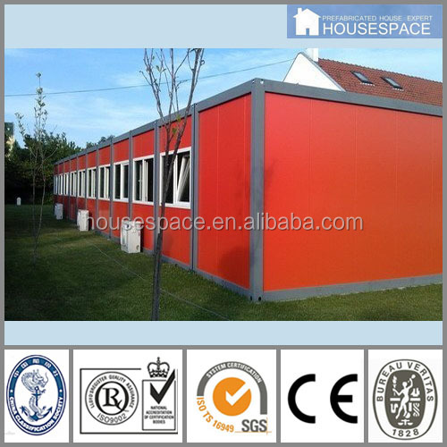 Easy to Install Good Insulated prefab foam cement house