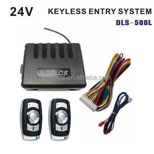 12V/24V Remote Keyless Entry System in Car Alarm with Remote Lock Unloxk /Car locating/Auto Central Lock