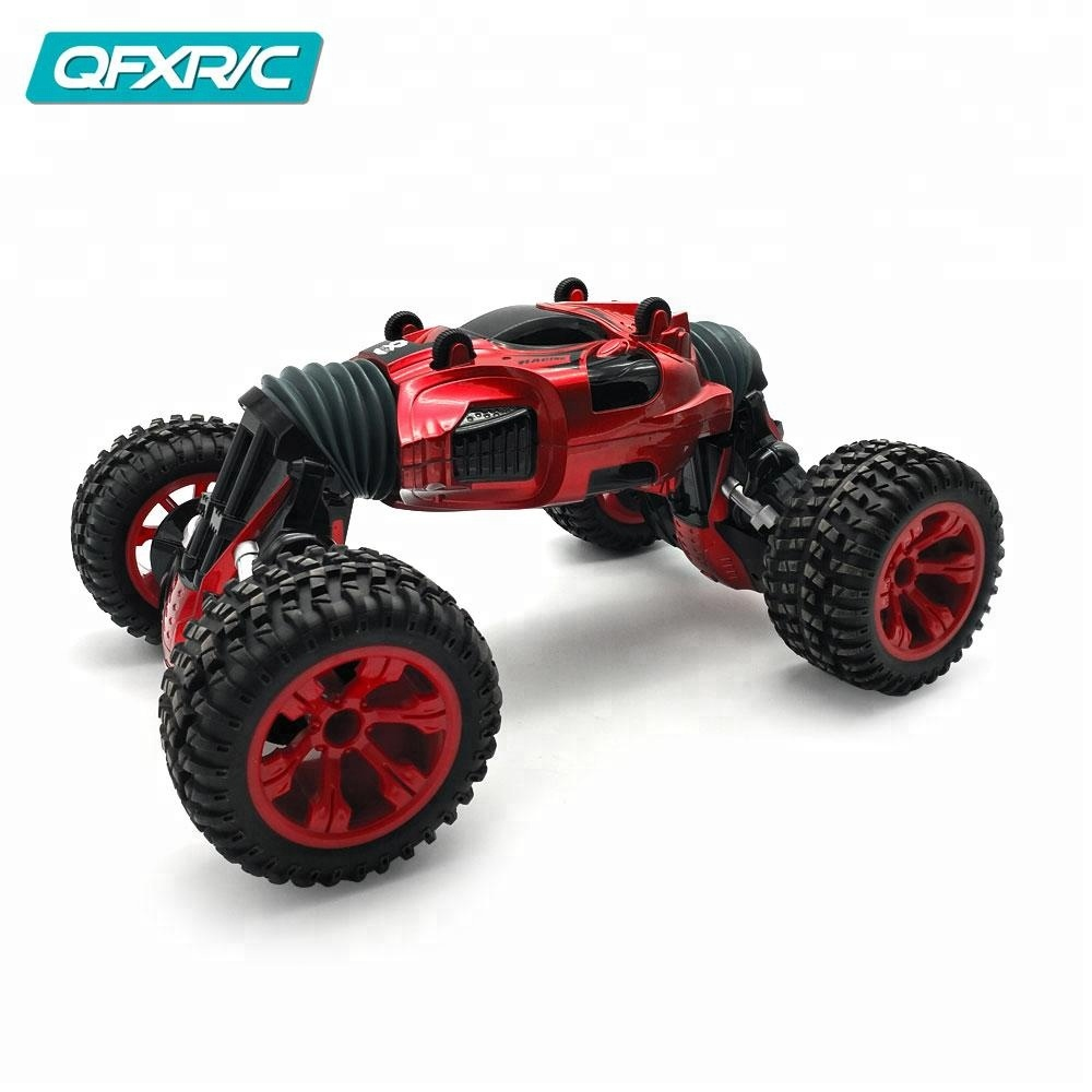 High quality and cheap price one key deformation double sided stunt rc car