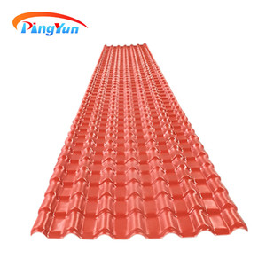 cheap roofing materials synthetic Resin asa Coated PVC Roofing Tile