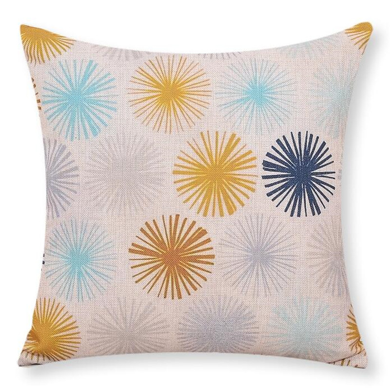 MYJ Hand-Printed Houseware <font><b>Bohemian</b></font> Style <font><b>Home</b></font> <font><b>Decor</b></font> Cushion Pillows Fundas Decorative Throw Pillows print your name